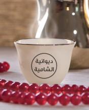 6 فناجين قهوة عربية تصميم دائرة