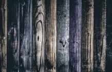 حائط خشبي