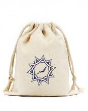 حقيبة قرقيعان مع رباط (تصميم النجمة)