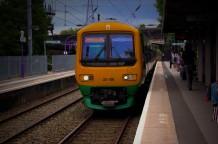 قطار السكك الحديدية