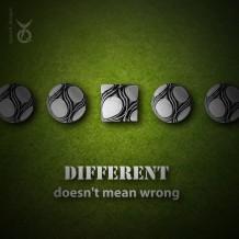 الاختلاف لا يعني الخطأ