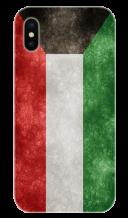 غطاء للهاتف مع تصميم مخصص لعلم دولة الكويت الجديد