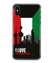 غطاء هاتف I Love Kuwait - MC062