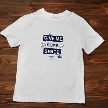 تيشرت رجالي تصميم ( الفضاء ) - TS019