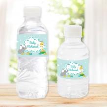مجموعة من 20 زجاجة مياه تصميم مولود جديد