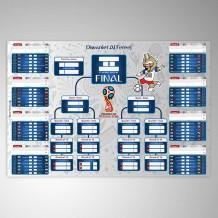 جدول مباريات كأس العالم 2018 تصميم Zabivaka